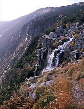 Pančavský vodopád Špindlerův Mlýn * Krkonoše