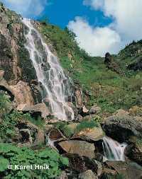 zvětšit obrázek: Labský vodopád Špindlerův Mlýn * Krkonoše