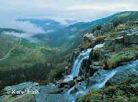 zvětšit obrázek: Pančavský vodopád Špindlerův Mlýn * Krkonoše
